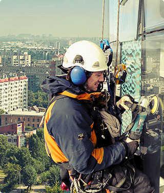 Подготовка промышленных альпинистов в москва